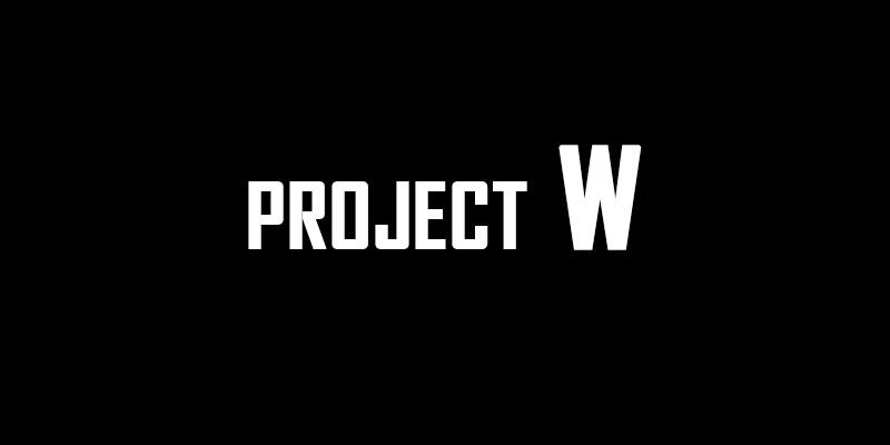 Projet W